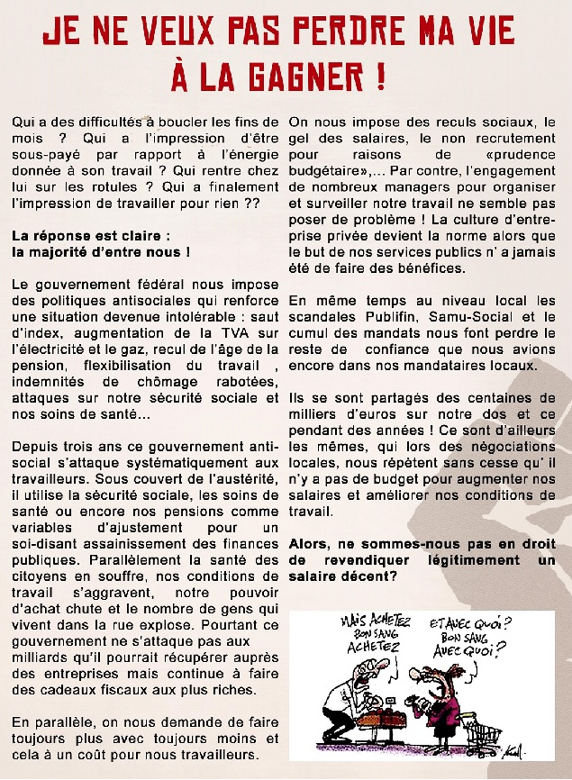 texte du tract